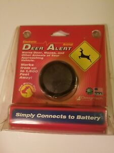 Design Tech Electric Deer Animal Alert
