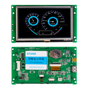Tft Lcd Display Module With Controller program touch uart Serial Interface