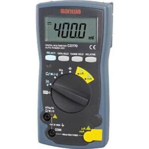 Sanwa Cd770 Digital Multimeter Dc ac Up To 600v Battery Japan With Tracking