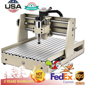 4 Axis 3040 Cnc Router Engraver Pvc Milling Drilling Cutting Machine Cutter 110v