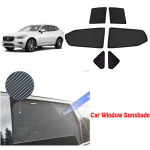 For Volvo V40 13 18 6pcs Magnetic Car Curtain Sun Shade Car Window Shade