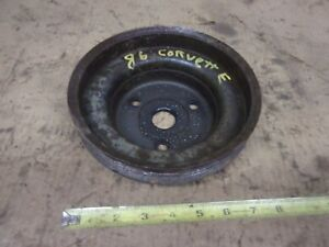 1986 1984 1985 Chevy Corvette 350 Cross Fire Injection Engine Crank Pulley Oem