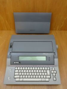 Smith Corona Pwp 145 Word Processor Electronic Typewriter 5f W cover Tested