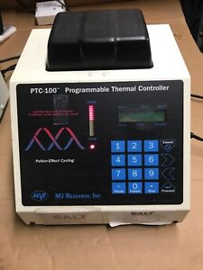 Mj Research Ptc 100 Programmable Thermal Controller Thermal Cycler