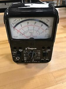 Simpson 260 Series 8p Overload Protection Multimeter