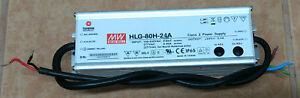 Mean Well Led Driver Hlg 80h 24a 80w 100 240v