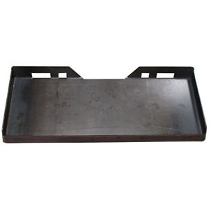1 4 Plate Mount Skid Steer Structural Steel Trailer Hitch