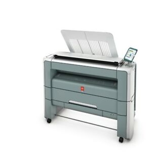 Oce Plotwave 300 Wide Format Printer With Scanner 2 Rolls Click For The Video