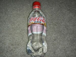 rare CLEAR Coca-Cola Coke Soda fresh Japan Limited Edition 16.9oz bottle special