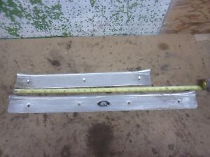 Old Vintage Gm 4 Door Sill Molding 1940 s Chevy Car Front Rear 1 side 1941 Oem