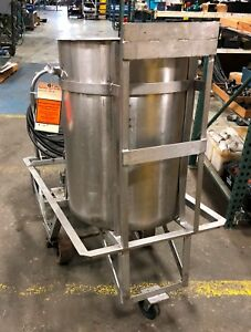 Industrial Stainless Steel Kettle Tank With Stainless Steel Pump Loc Erc ym