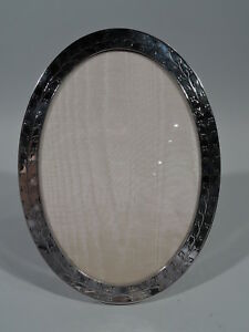 Tiffany Frame 19798 Picture Photo Antique Oval American Sterling Silver