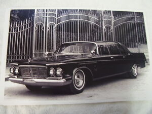 1963 Chrysler Crown Imperial Limo Big 11 X 17 Photo Picture