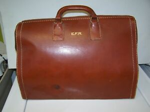 Vintage Mutual Leather Dr Doctor Bag As Is To Restore