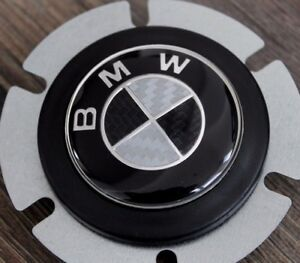 Bmw Horn Button Bmw Carbon Badge Fits Momo Raid Sparco Energy Nrg Steering Wheel