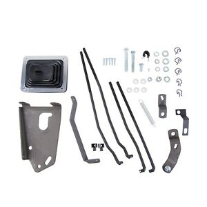 Hurst 3670027 Mastershift 3 speed Gear Shift Installation Kit Fits 75 86 F 150