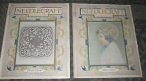 2 April 1924 And May 1924 Publications Needlecraft