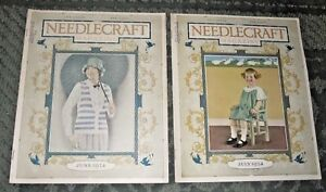 2 June 1924 And July 1924 Publications Needlecraft
