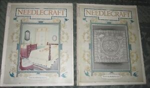 2 October 1923 And November 1923 Publications Needlecraft