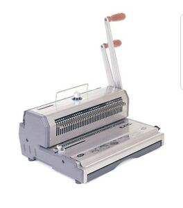 Akiles wiremac 31 14 3 1 Pitch Heavy duty Wire Punch And Binding Machine