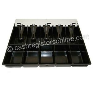 Samsung And Sam4s Cash Drawer Insert Money Tray 5 Bills And 5 Coins