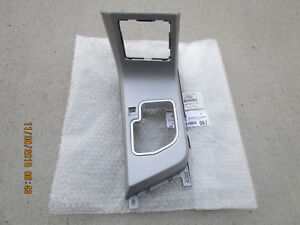 07 10 Toyota Tundra Sr5 Limited Center Console Shifter Bezel Trim Silver New
