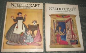 2 May 1929 And June 1929 Publications Needlecraft