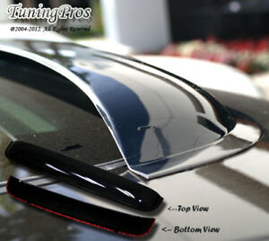 Fits Hyundai Accent 2000 2005 3pc Wind Deflector Outside Mount Visors