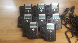 Lot Of 10 Polycom Ip321 Ip 321 Office Telephones
