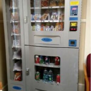 Vending Machine New Combo Soda Snack Candy Pop Office Deli Food Truck Genesis
