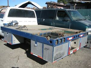Truck Flat Bed Welders Bed Pipeliners Bed Pipe Line Welding Rig Used 9ftx7ft