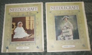2 June 1921 And July 1921 Publications Needlecraft