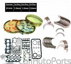 Acura Integra Gsr Type r 1 8 B18c1 B18c5 Engine Rebuild Re ring Kit new