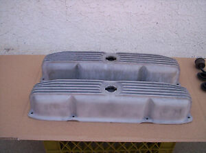 Mopar 440 383 Valve Covers Chrysler Aluminum Rare