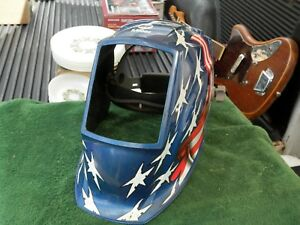 Miller Elite Series Stars Stripes Digital Welding Helmet No Face