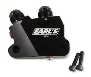 Earls Plumbing 1126erl Engine Oil Cooler Adapter