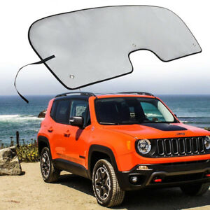 Window Windshield Sun Shade Visor Reflective Cover For 2015 2018 Jeep Renegade