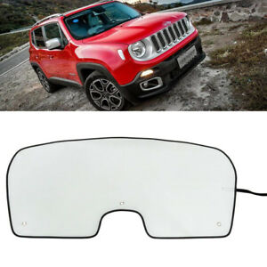 Window Windshield Sun Shade Visor Heat Uv Rays Reflective For Jeep Renegade 15