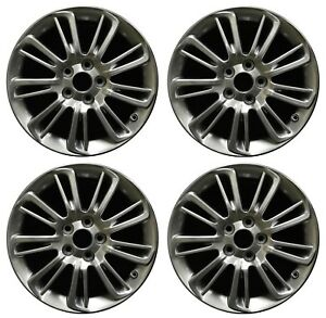 17 Toyota Camry 2015 2016 2017 Factory Oem Rim Wheel 75169 Mirror Silver Set