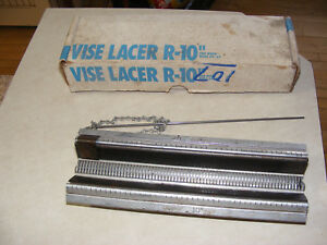 Clipper Vice Lacer 10 Inch Round Hay Baler Belt Splice Splicing Repair Tool