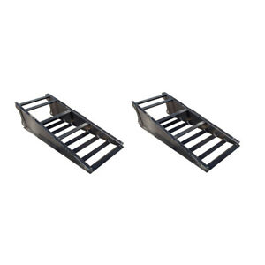 Blemished Construction Utility Loading Ramps For Gooseneck Dovetail Trailers