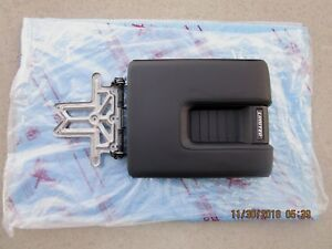 14 19 Toyota Tundra Limited Center Console Arm Rester Lid Black Leather New