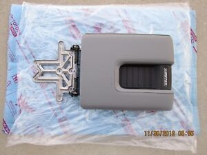 14 19 Toyota Tundra Limited Center Console Arm Rester Lid Gray Leather New