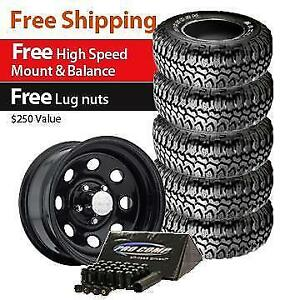 Maxxis Bighorn Tire 31x10 50r15lt And Pro Comp Series 97 Wheel 15x8 Package Of 5