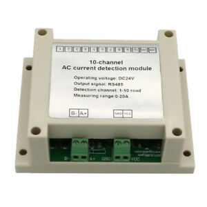 Multi channel Ac Current Detection Module Current Sensor Range Linear 20a