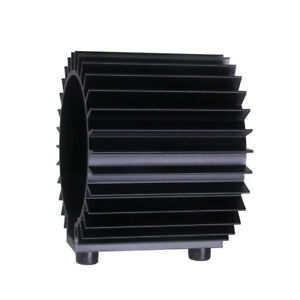 Polished Black Oil Filter Cooler Heat Sink Cover Cap Aluminum Alloy Tool