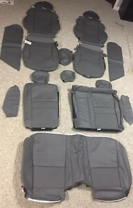 2006 2010 Honda Civic Ex Coupe Leather Interior Covers Gray Oem Brand New