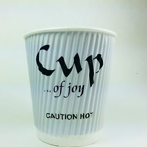 900 Coffee Paper Cups Hot Cold Individually Wrapped Home hotel party Suitable