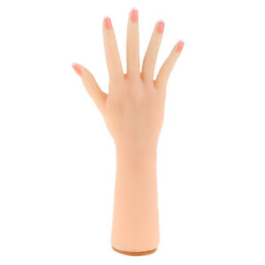 Realistic Female Silicon Hand Mannequin Model Jewelry Ring Display Right