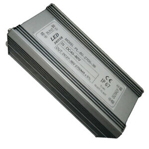 90watt 2700ma Constant Current Power Supply Led Dimmable Driver Bay Light